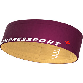 Compressport Free Cintura, viola/giallo
